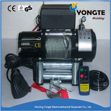 High quality black electric boat anchor winch 12 volt