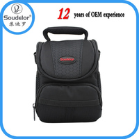 Water Resistant nylon camera bag with thick padding