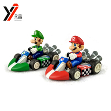 OEM Toy Manufacturer Cartoon Car Set Super Mario Bros/Brothers Figures