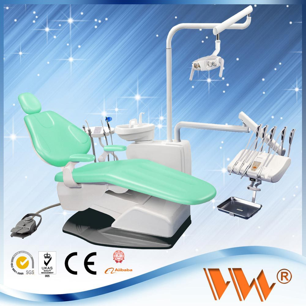 china wholesale dental products 2013 medical mobile dental unit / delivery system with infinite dimming induction led lamp