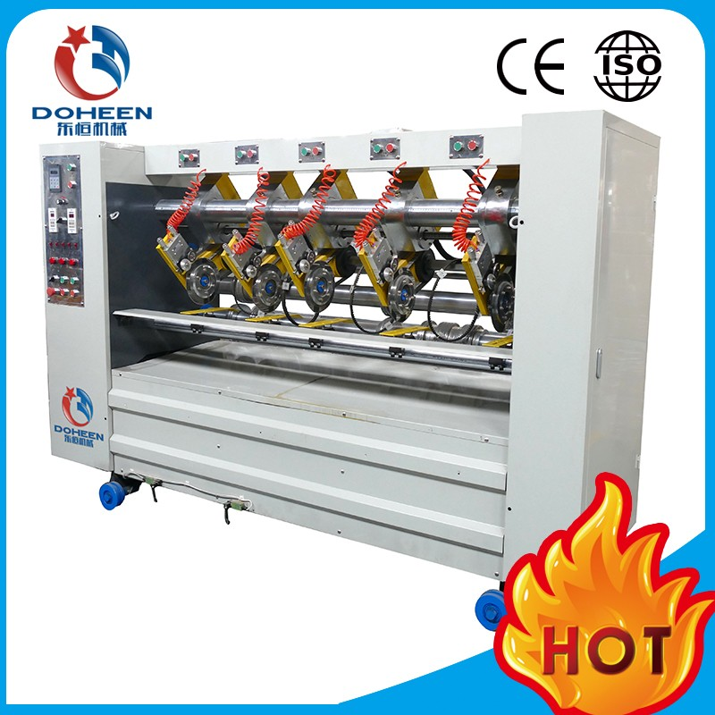 Doheen-BF6Y-QDT Type thin blade slitter scorer electric adjust scoring distance type