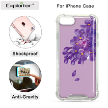 Anti-gravity Phone Case For iPhone 7 7 plus 6s 6 Plus 5s for Samsung S6 S7 edge Magic Sticks Anti gravity Nano Suction Cover