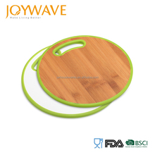 2018 new product round bamboo custom cutting chopping board