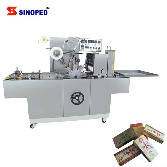 Industry Cosmetic Box Cellophane Wrapping Machine