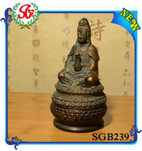 SGB239 Tibetan Antique Color Resin Buddha Painting