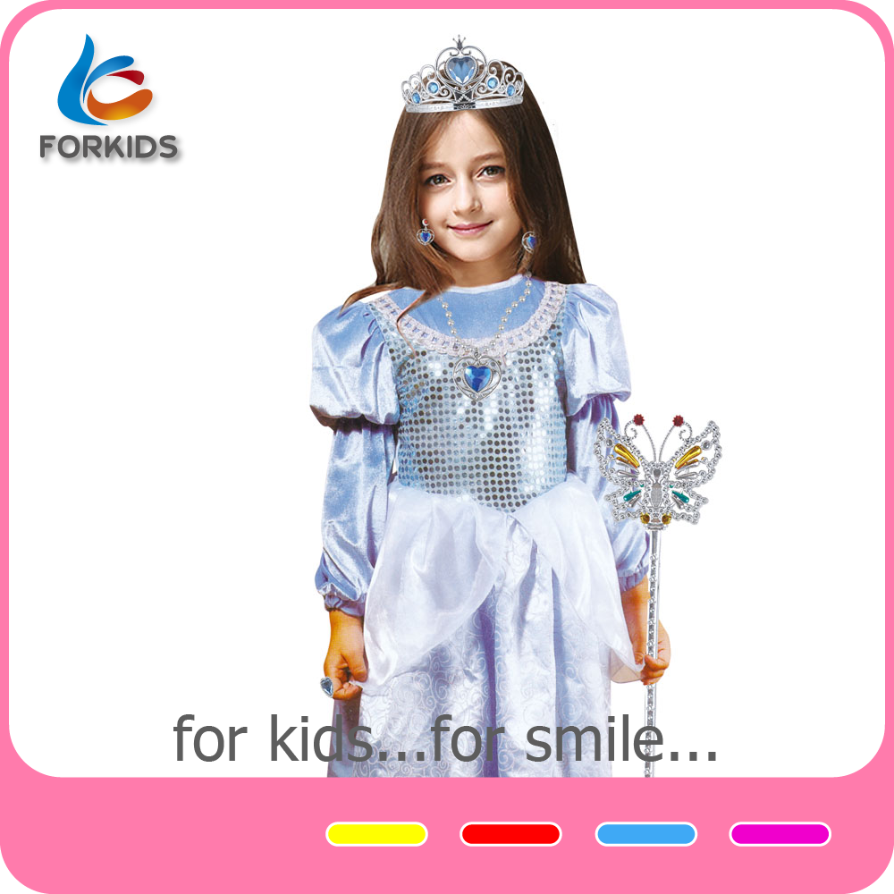 Professional cartoon character costumes frozen elsa coronation dress costume cosplay princess costume
