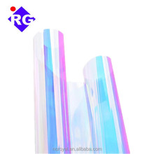 PET 14-26Mic Dichroic Rainbow Film Patict Colored Reflective Plastic Iridescent Film