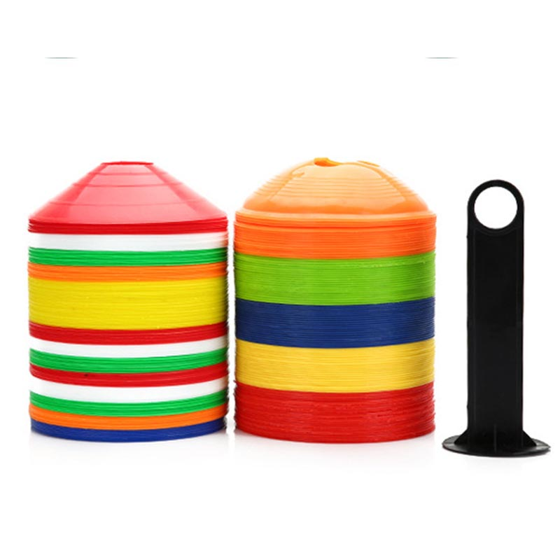 Wholesale football soccer agility Cones with Carry Bag and Holder for Soccer, Football, Kids, Sports, Field Cone Markers