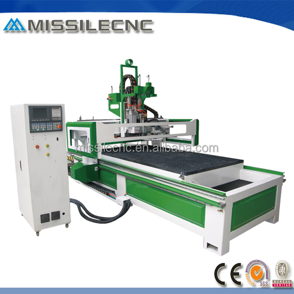 professional manufacturer 1325 atc wood router cnc drilling milling and engraving machine