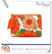 new design natural cotton cosmetic bag high quality