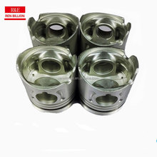 isuzu npr engine piston engine spare parts 4JB1/T 4JA1 engine piston size