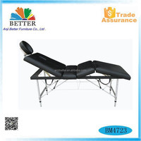 Better fitness equipment,Aluminium Portable Massage Table,massage bed