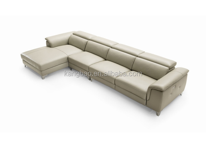 2016 V V SOFA newest recline italy leather sofas set