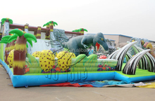 New Design Inflatable Trampoline, Giant Inflatable Playground Castle