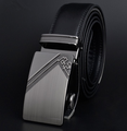 Casual fashion belt, Split Leather Belts with zinc alloy buckle
