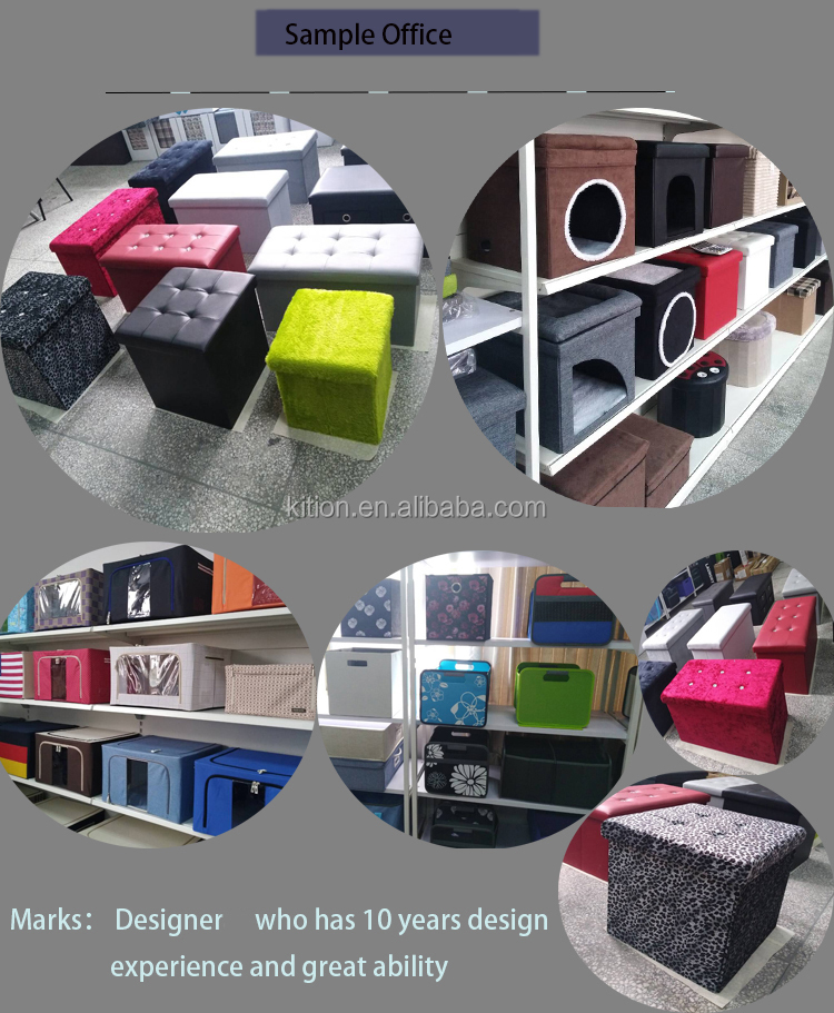 2018 foldable home furniture bench ottoman