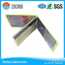 new developed!! plastic rfid blocking sleeve for Credit Card