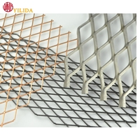 Professional expanded metal wire mesh for car grille
