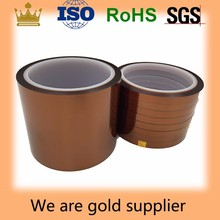 0.08kapton tape,silicone adhesive tape,high temperature polyimide adhesive tape ,