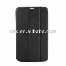 Black Color Flip Ultra thin PU Leather Stand Case For Samsung Galaxy Tab 3 8'' T311 T310