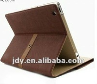 Best buy New ipad smart cover Pouch case for iPad 3 with Retro Style Stand Brown