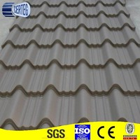 Corrugated steel roofing tile for construction real estate