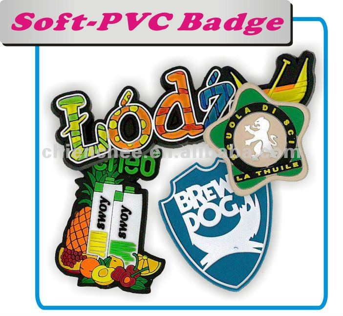 Silicone PVC Products - Fridge Magnet / Memo Clip Novelties for Giveaway (Label/Badge/Magnet/Keychain/Bracelet)