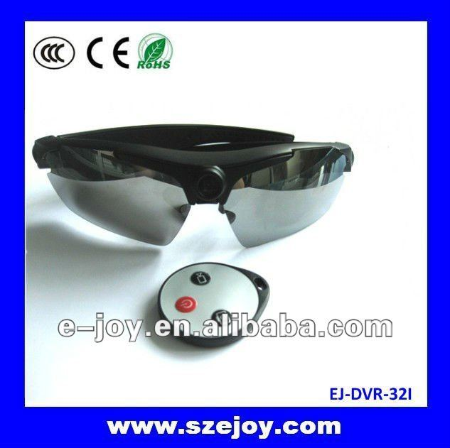 Resolution 1280*720 (HD) high definition video glasses (EJ-DVR-32I)