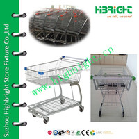 south American style supermarket trolley cart