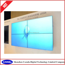 with LG / Samsung seamless 1x4 / 4x4 lcd video wall 46 47 55 inch