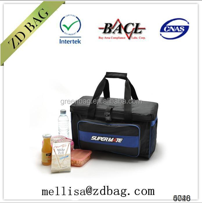 shiny pvc shopping bag electric cooler bag