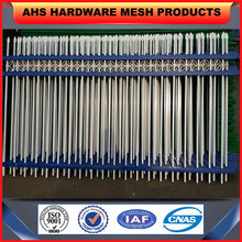Anping factory palisade angle bar fence/steel picket bar fence