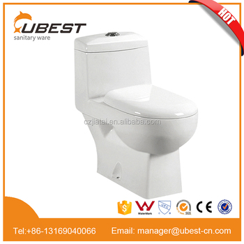 Sanitary wares one piece toilet china supplier wholesaler bathroom accessory S-trap washdown cheap price