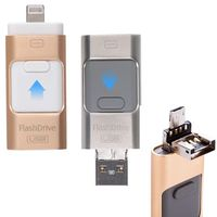2in1 USB Flash Drive Disk i-Flash For iPhone 5 6 6s 8Pin Android Phone Micro USB