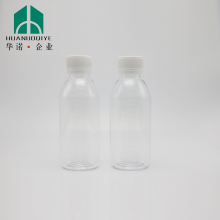 5 oz. Clear PET Plastic Boston Round Bottle 24mm 24-410