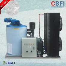 High output portable flake ice making machine