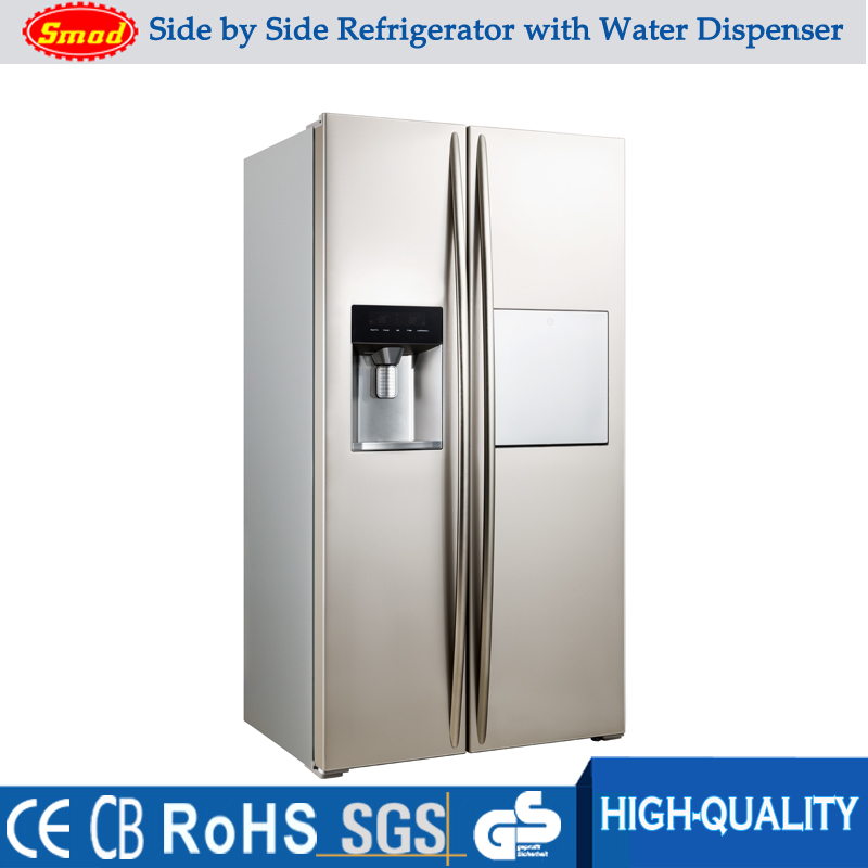 Home Refrigerator 550l Side By Side Double Door Fridge