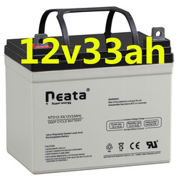 Neata Free Maintenance Type and 12v Voltage 12v33ah vrla batteries