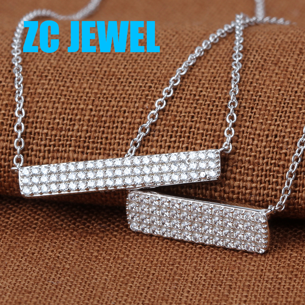 China Supplier Popular Party 925 Sterling Silver Necklace Jewelry