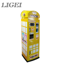 Automatic type currency exchange machine token changer coin change vending machine
