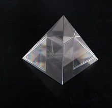2017 hotsale egypt crystal pyramid for paperweight