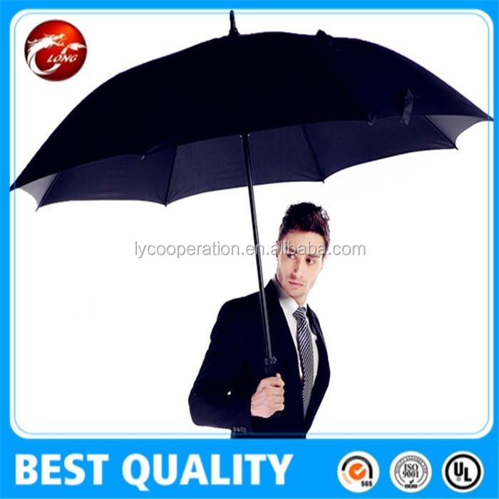 Double Layers Large High Quality Windproof Golf Umbrella Factory