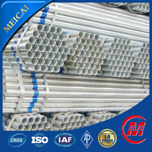 erw galvanized carbon steel pipe price list