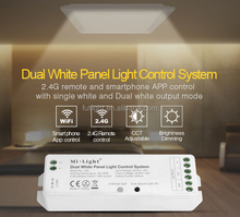 Mi.Light wireless christmas led lighting Dual White Panel Light control system with RF control