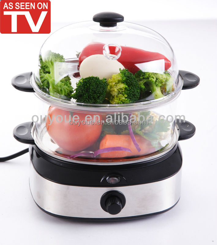 Stainless Steel Electric Vegetable Steamer ~ Stainless steel electric food steamer buy