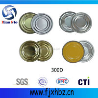 65mm golden lids for tin can / beverage can / food can