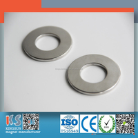 Radial Mangetized Neodymium Ring Magnet N35SH Industry Motor