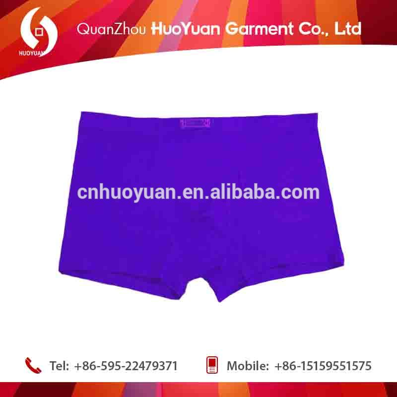 2017 HUOYUAN High Quality Cartoon Print Male Underwear Sexy unisex Boxer Black Jacks Young Teenagers