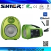 25w USB/MP3 Player Sound PA System Outdoor Waterproof Portable Speaker with Microphone Priority