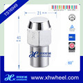 shank style stainless steel color wheel lug nut